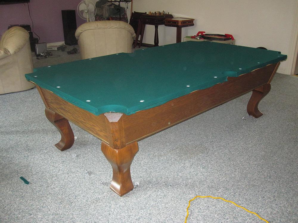 Buena Park AMF Pool Table Refelting - DK Billiard Service ...