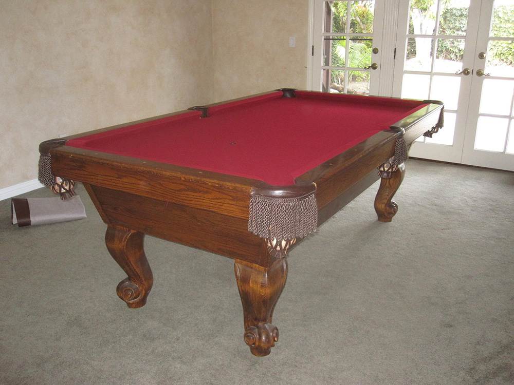 Murrey Pool Table Move Dk Billiard Service Pool Tables