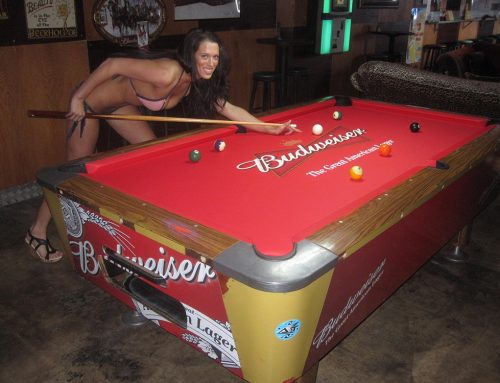 Babes, Billiards and Bud; Eye Candy's Got It All