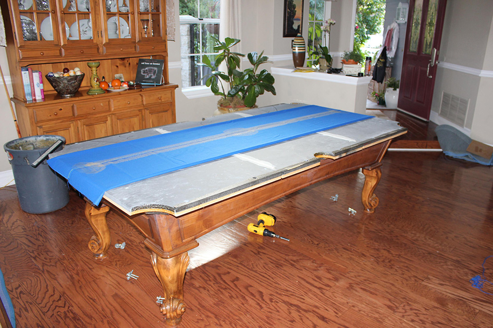 Seattle Pool Table Transplanted to the O.C. - DK Billiard ...