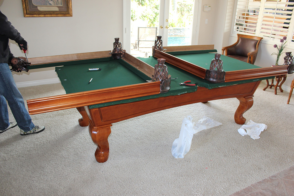 Used Pool Table Buyers Beware Of Dead Cushions Dk