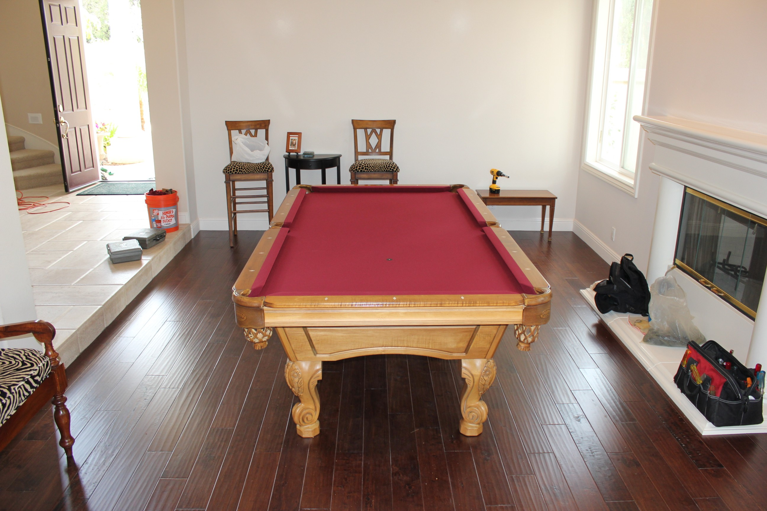 Olhausen Pool Table Refelting