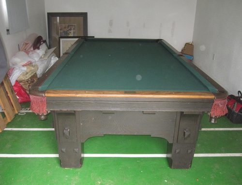 1970's Delta Billiard Table Vanishes