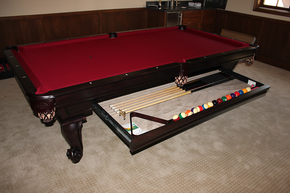 Painting your pool table