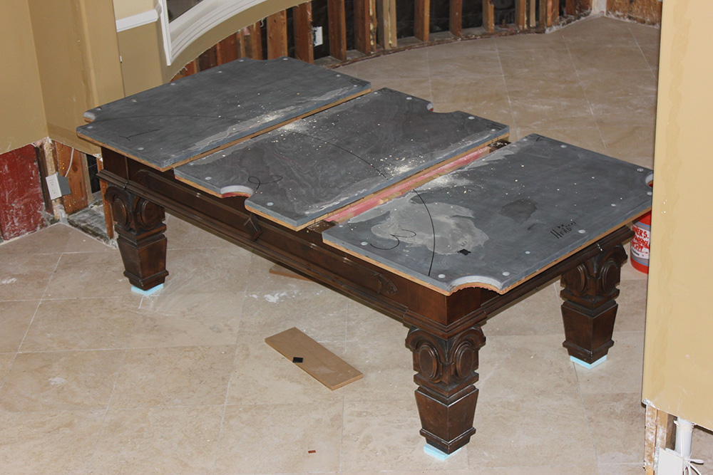 Buying a Used Pool Table? Part 1: Slate – DK Billiard Service