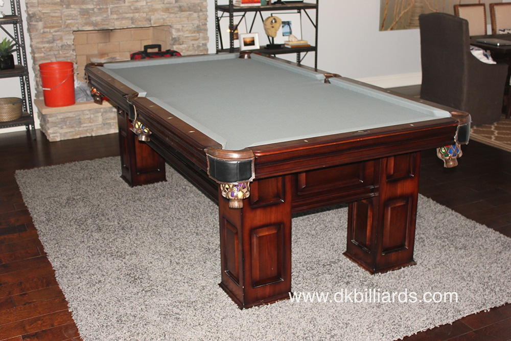American Heritage Pool Table Restoration