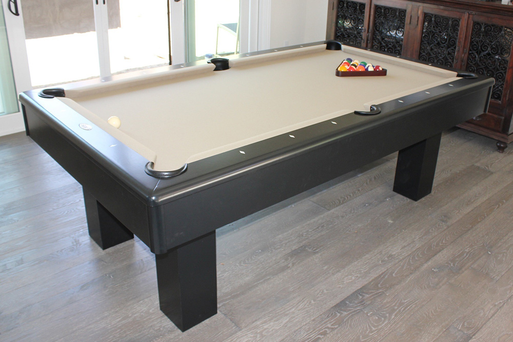 Contemporary Seven Foot Pool Table - DK Billiard Service, Pool