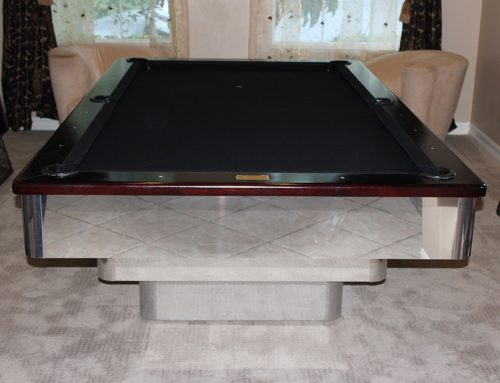 Chrome Three Tier Pool Table