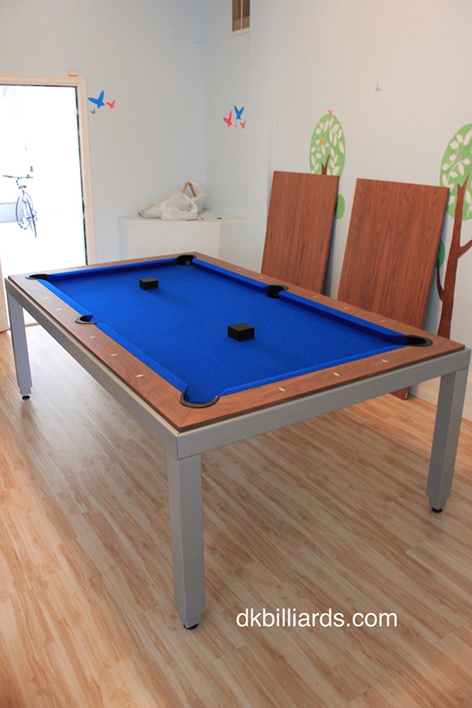 Modern Style Pool Table With Dining Top Dk Billiard