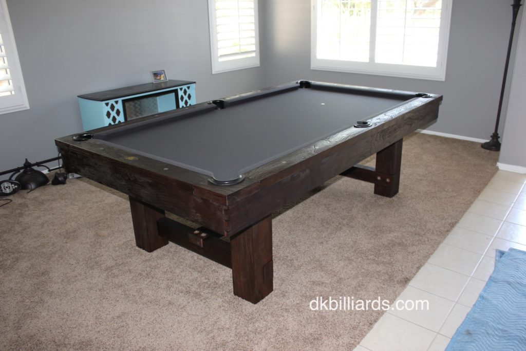 Pottery Barn Style Rustic Pool Table Dk Billiard Service