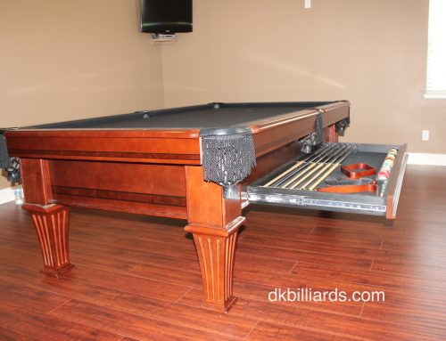 Stratford Drawer Pool Table