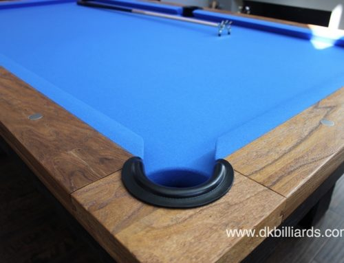 Two-tone Rustic Pool Table Install