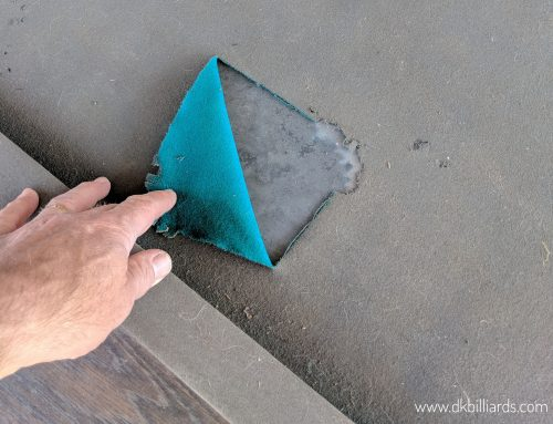 Keeping a Patio Pool Table