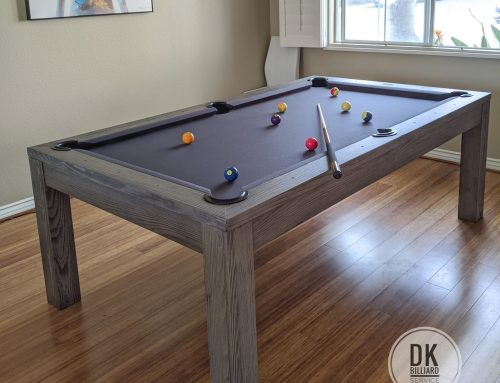 Penelope Rustic Dining Pool Table