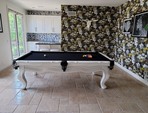 Painting a Pool Table White
